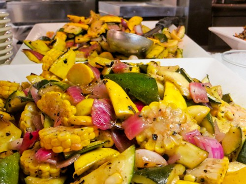 spring vegetable salad at Mitsitam Cafe, via goodfoodstories.com