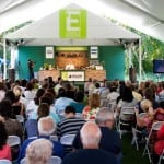 Lidia Bastianich at the New York Botanical Garden