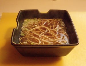 sodium soup with scallions