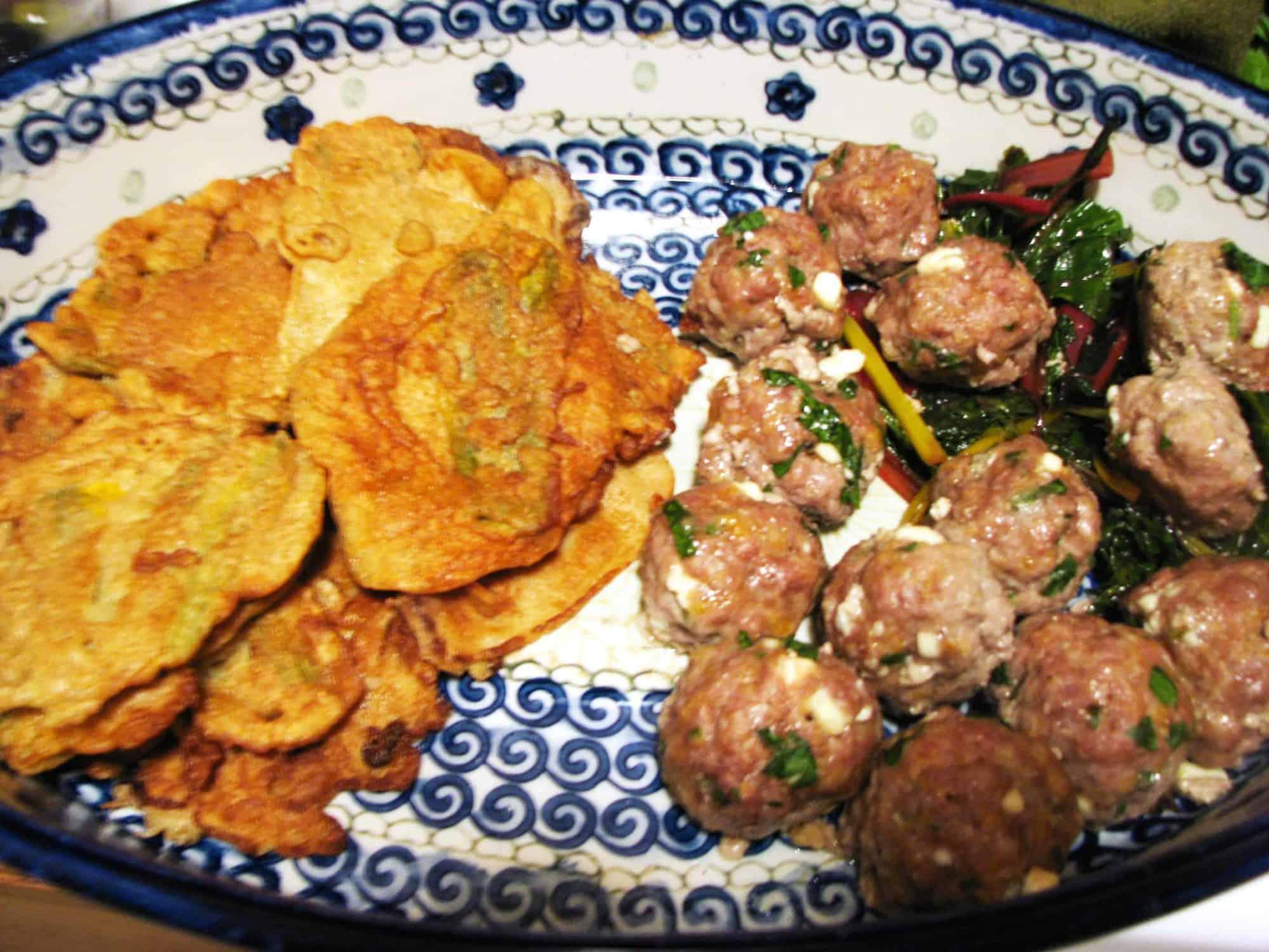 Feta and Parsley Meatballs