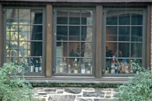 Blue Hill bar, seen from outside