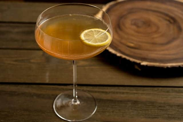 The Glasgow Ginger, a sweet ginger, Scotch, and lemon cocktail - via www.www.goodfoodstories.com