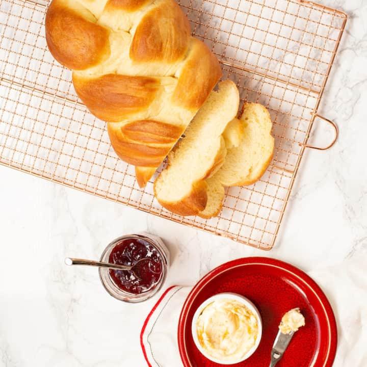 Braided Swiss Bread (Rich Egg Bread From Berne, AKA Berner oder Emmentaler Zopf)