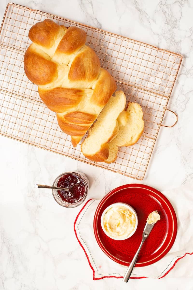 Braided Swiss Bread