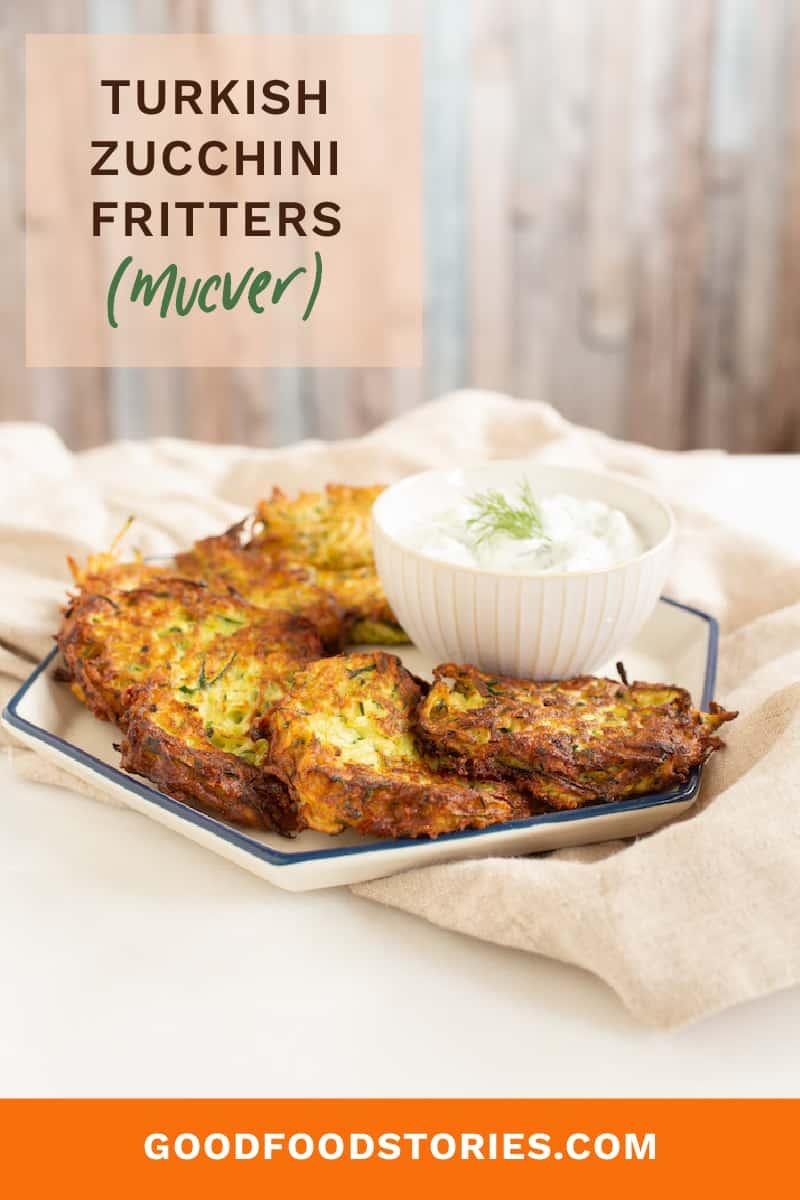 mucver - turkish zucchini fritters