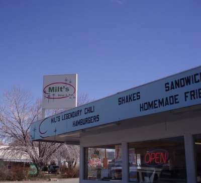 milts stop and eat, moab, utah, hamburgers, shakes