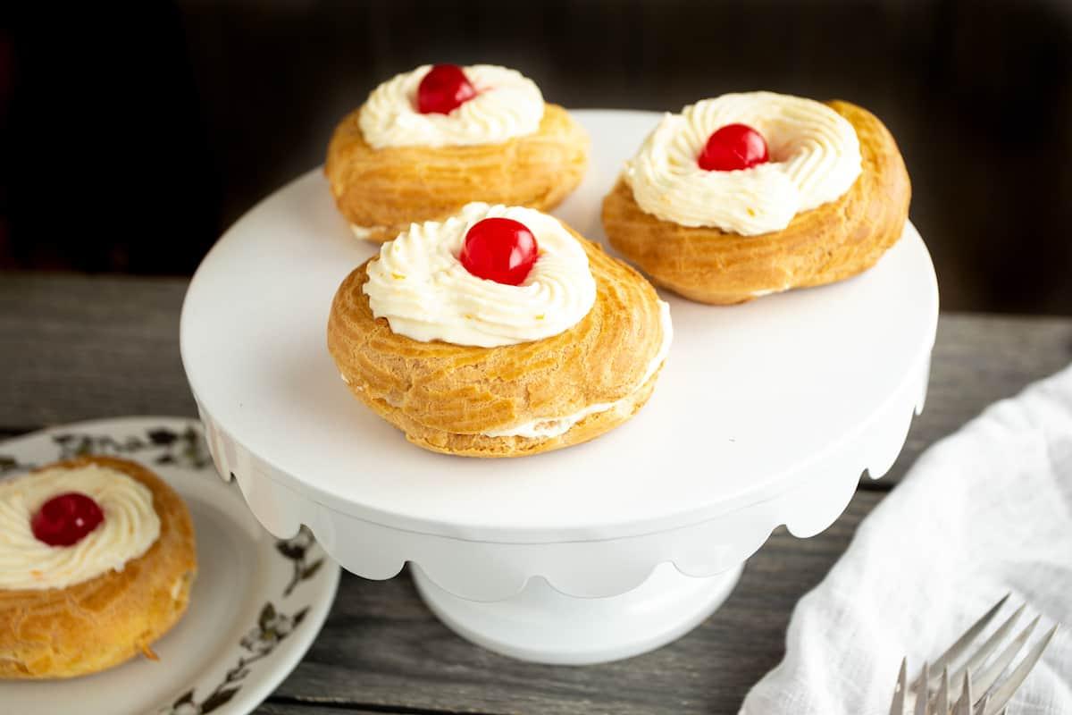 zeppole - cream puffs