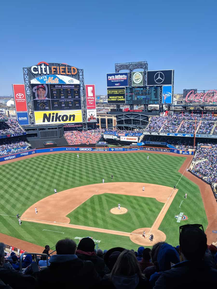 What's the best food at Citi Field? There are so many options at Mets games. #citifield #mets #baseballfood