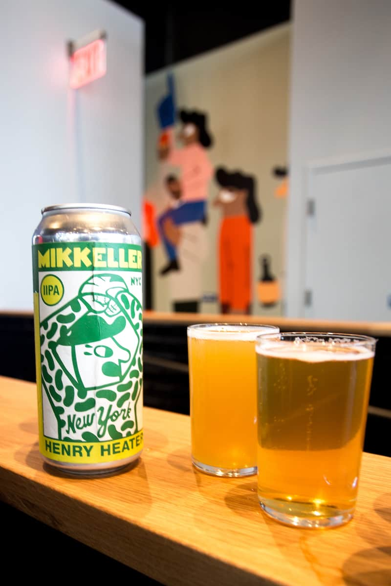 The Mikkeller brewery at Citi Field is very baseball friendly. #mikkellernyc #craftbeer #citifield