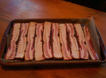 bacon tray for oven