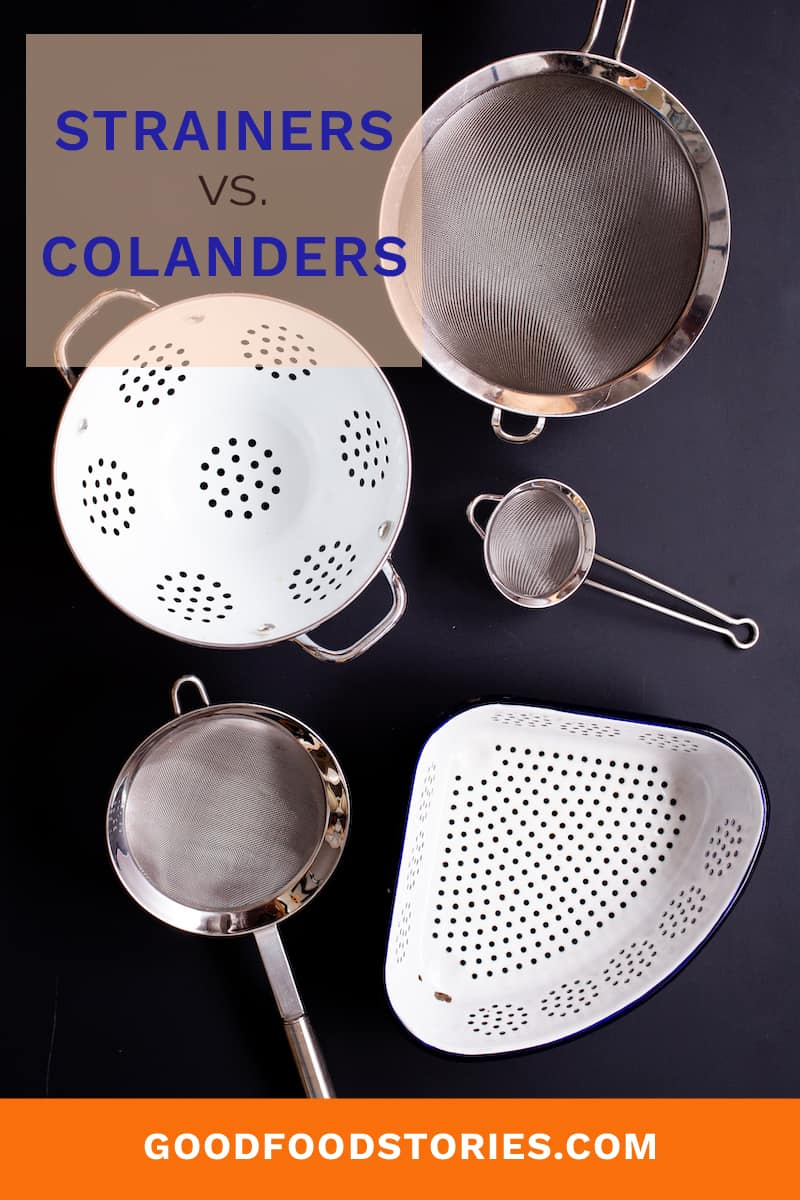 strainers and colanders