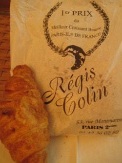 Regis Colin croissant Paris