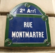 rue Montmartre Paris 2nd arrondissement