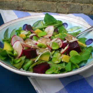 Farm-Fresh Spring Vegetable Salad