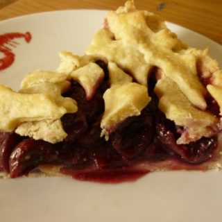 cherry pie, in cold blood