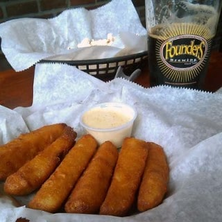 Fried Pickles at Bronx Ale House
