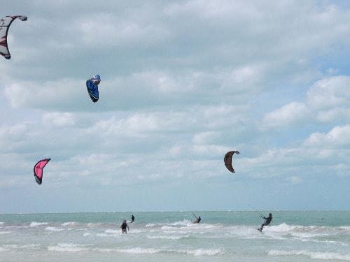 kiteboarding mexico