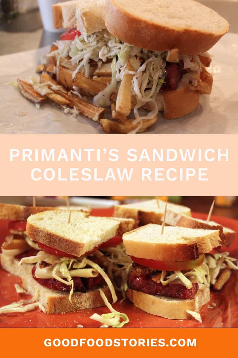 Primanti's Pittsburgh coleslaw