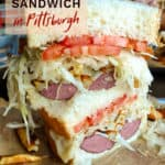 Primanti's Pittsburgh sandwich