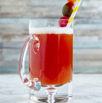 Bloody beer, red eye, red beer, red rooster: whatever you call it, this beer-and-tomato-juice combo is way more than a brunch accompaniment.