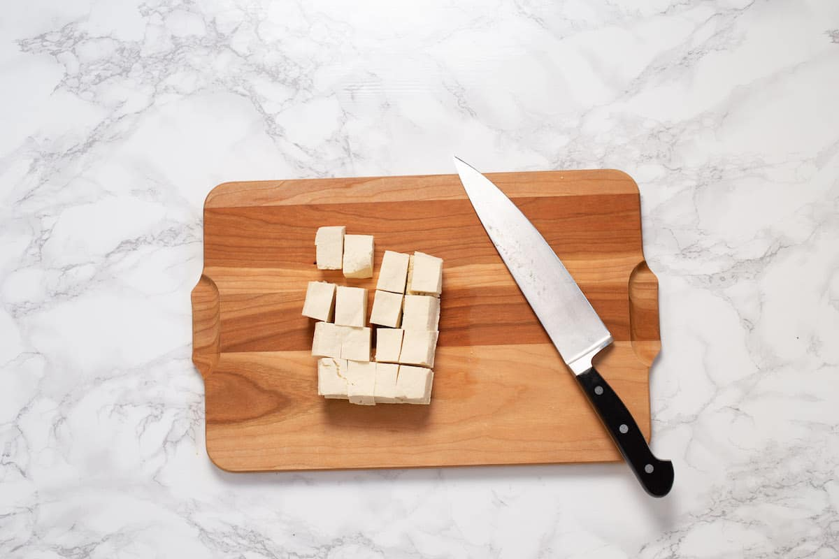 Crispy baked tofu can be prepped in advance for lunches and dinners all week.