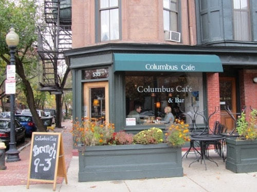 Columbus Cafe, Boston, South End