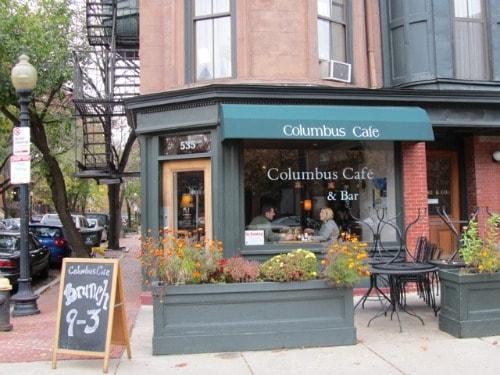 Columbus Cafe, Boston, South End