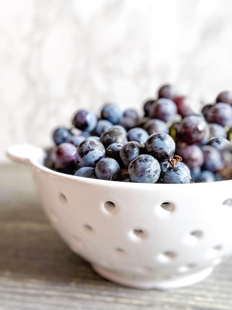 Concord grape jam, via goodfoodstories.com