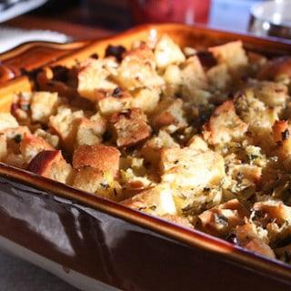 Thanksgiving stuffing, via goodfoodstories.com