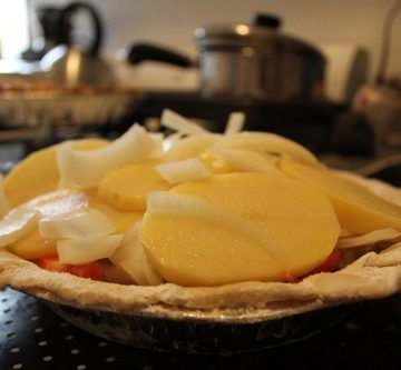pie crust filling