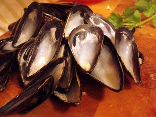 Authentic Spanish Mussels