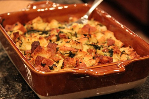 gruyère bread pudding savory egg pudding savory oat bread bacon and ...