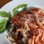 Penne Vodka for the One You Love