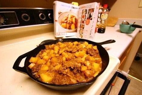 nikujaga, japanese stew