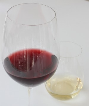 wine glass, stemware