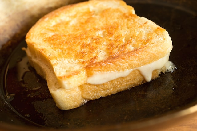 "the story of a cheese sandwich Some may see grilled cheese sandwiches as the unexciting accompaniment to a   and chef james edward ""eddie"" davis, it's a different story."