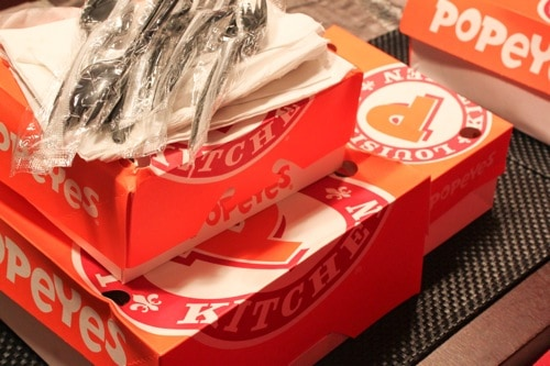 popeyes chicken to go