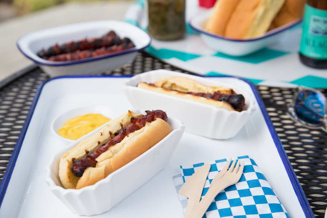 Marinated Hot Dogs