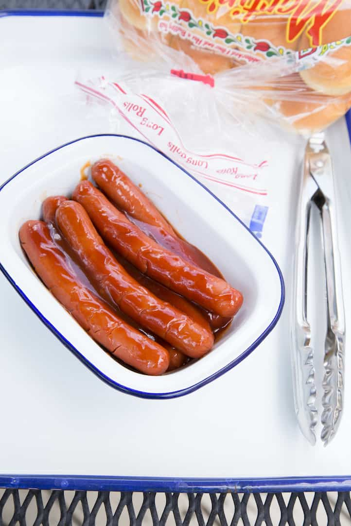 marinated hot dogs are the best you've ever tasted! - via goodfoodstories.com