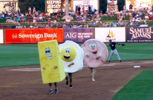 lakewood blueclaws, pork roll, taylor ham, new jersey