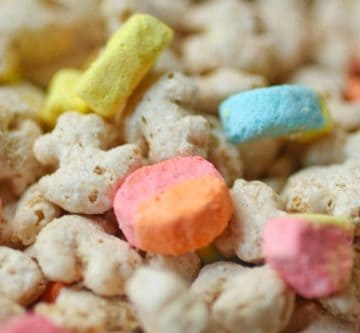 lucky charms, marshmallows