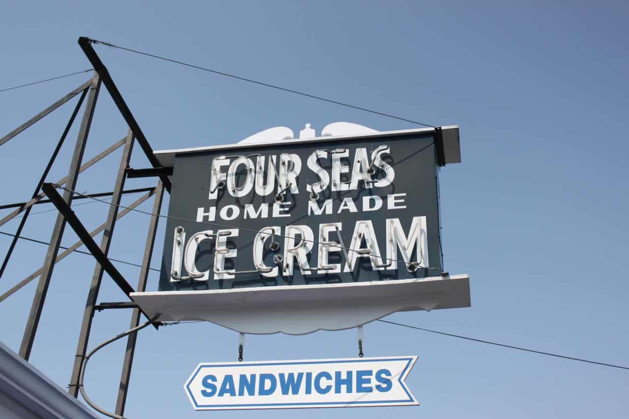 Four Seas Ice Cream on Cape Cod
