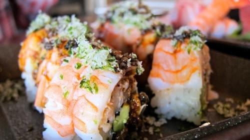 sushi ran crunch roll