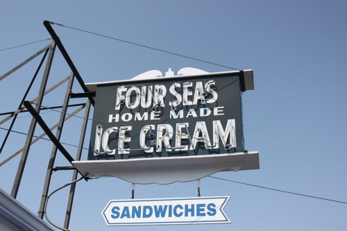 four seas ice cream, cape cod