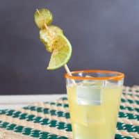 The Pickled Surfer (Pickleback Cocktail)