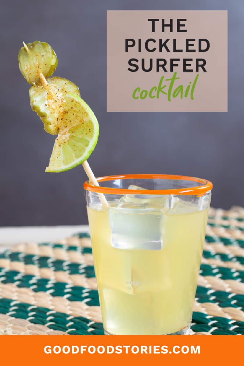 pickled surfer cocktail