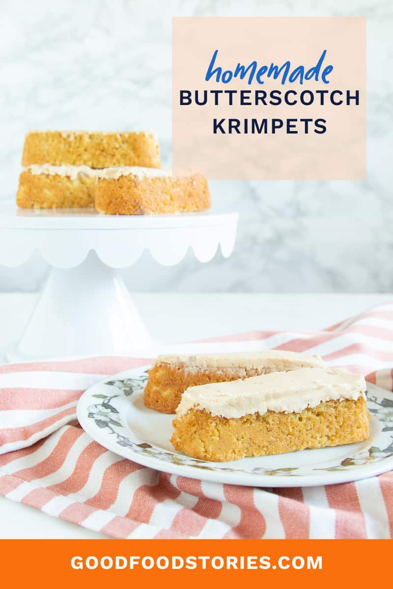 homemade butterscotch krimpets