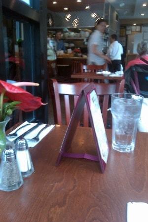 diner scene, new york