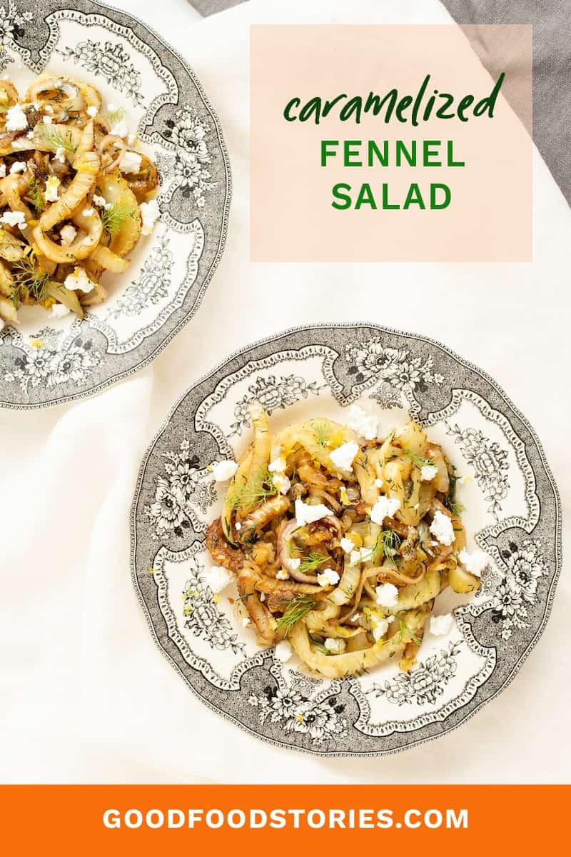 caramelized fennel salad