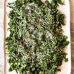 broiled parmesan spinach with garlic